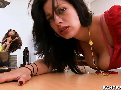 Hot Angelica Raven wants to have anal sex