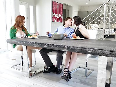 The kitchen floor is the best fuck place if you ask Dani Jensen