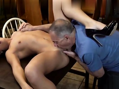 Old man fucks young unspecified with small boobies 2