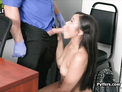 Stygian blows cock in the first place leaked office cctv motion picture