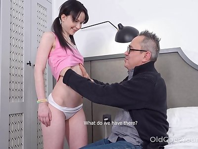 Kinky pigtailed obscurity Sweetie Plu is fucked by doyenne sponger doggy